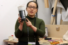 Hwa Young Jung from DIYbio Manchester - Soil powered battery