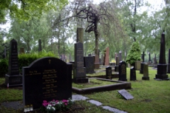 Communication with Ibsen & Munch at the Memorial Cemetery