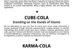 Radical Cola Challenge- Cube vs Karma vs Coca cola