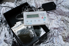 Geiger counter & local algae