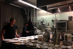 designer/chefs in de culinere werkplaats kitchen